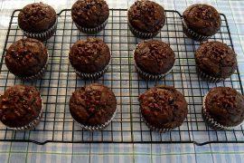 Mennyei csokoládés muffin